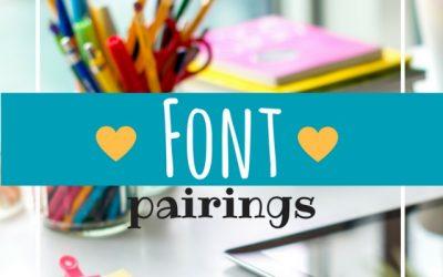 Font Pairing Guides + Font Pairing Ideas