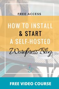 How to install your own self hosted wordpress blog