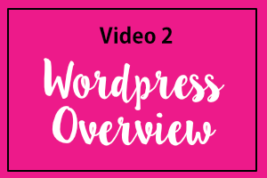 Video 2: WordPress Overview