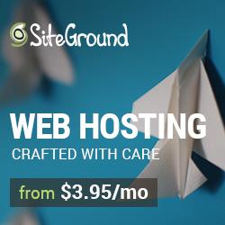 SiteGround Hosting for WordPress